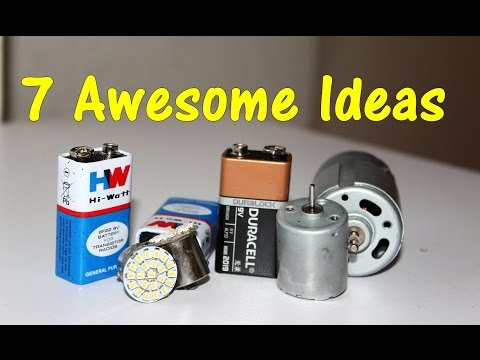 7 Awesome School Projects / Lifehacks - Compilation