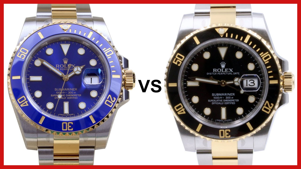 Rolex Submariner Blue And Black