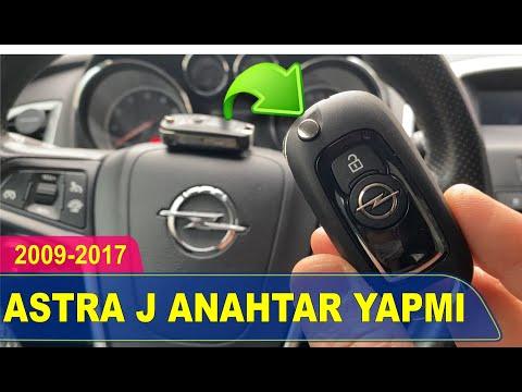Opel Astra J Anahtar Yapımı | Yedek Kopyalama - Oto Anahtarcı İstanbul