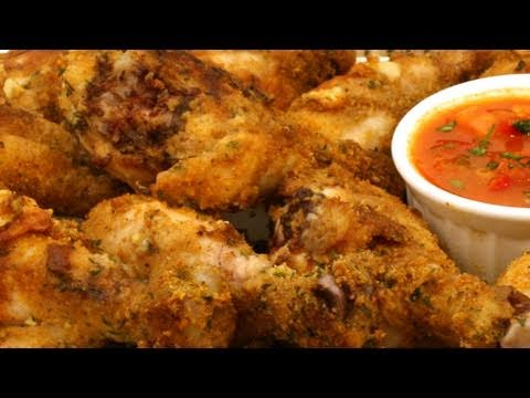 baked chicken drumstick recipe a healthy recipe youtube. Black Bedroom Furniture Sets. Home Design Ideas