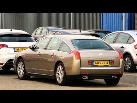 citroen c6 3 0 v6 youtube. Black Bedroom Furniture Sets. Home Design Ideas