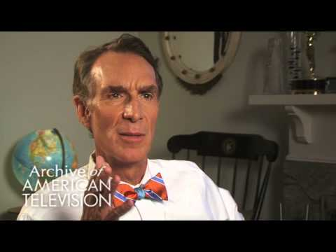 "Bill Nye on the origins of ""Bill Nye, The Science Guy"" - EMMYTVLEGENDS.ORG"