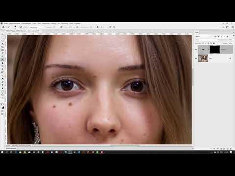 Как осветлить белки глаз в Adobe Photoshop