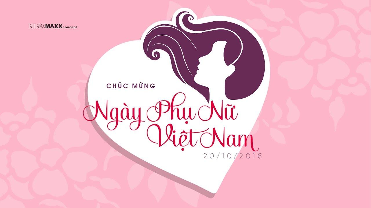 Chúc mừng ngày Phụ Nữ Việt Nam 20/10/2016