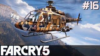 FAR CRY 5 Gameplay PL [#16] Kupiłem ZŁOTY Helikopter /z Skie