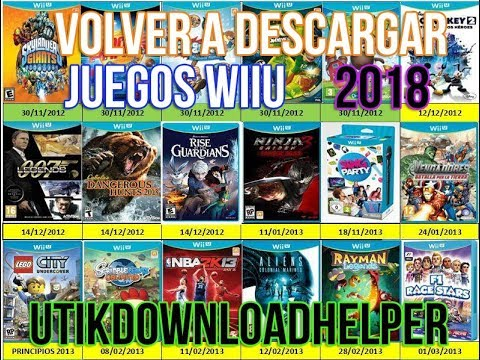 Utikdownload Helper 2018 Descarga Juegos Wiiu Nuevo Metodo Youtube