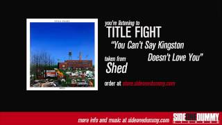 Watch Title Fight You Cant Say Kingston Doesnt Love You video