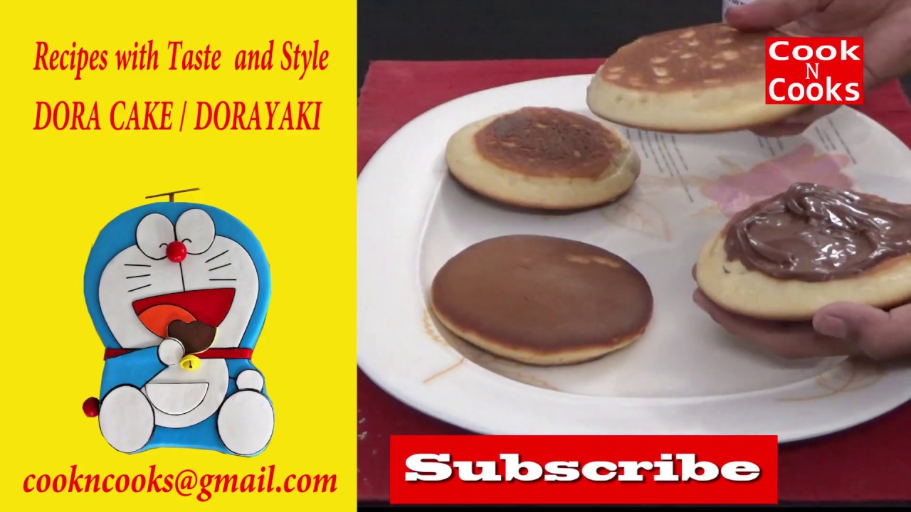 Cake Making Recipes In Urdu: Dora Cake Recipe In Hindi / Urdu / How To Make Dorayaki