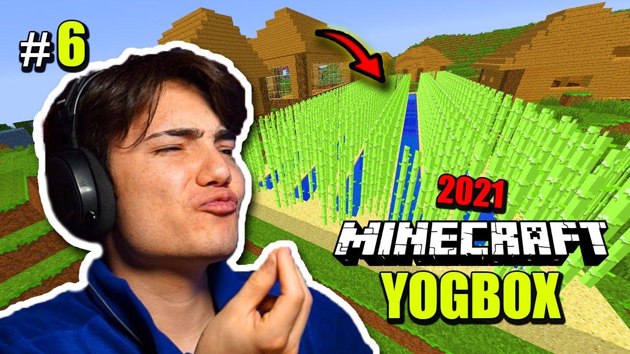 YENİ HARİTA VE DEV TARLA ! – Minecraft Yogbox – Bölüm 6