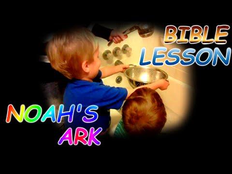 Our Happy Homeschool - Bible Lesson - Noah