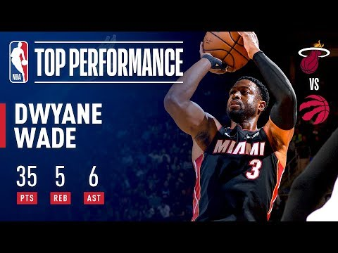 Dwyane Wade Sets A New Miami Heat Record! 35 Points Off The Bench! | November 25, 2018
