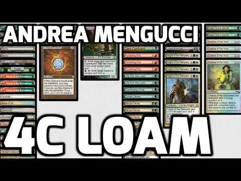 Channel Mengucci - Legacy 4-Color Loam (Deck Tech & Match 1)