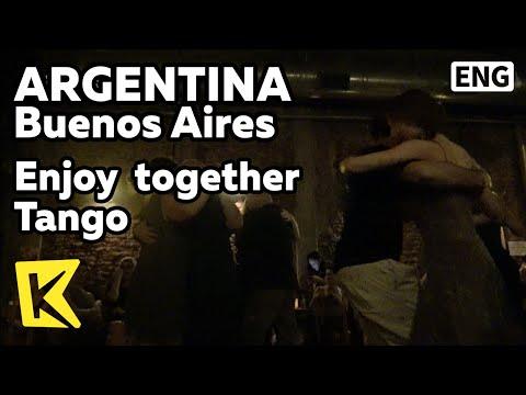 【K】Argentina Travel-Buenos Aires[아르헨티나 여행-부에노스아이레스]함께 즐기는 탱고/Tango/Milonga/Bandoneon