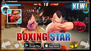 👊BOXING STAR ANDROID/iOS GAMEPLAY HD| NEW BOXING GAME ANDROID 2018 | NOOBTHEDUDE GAMING