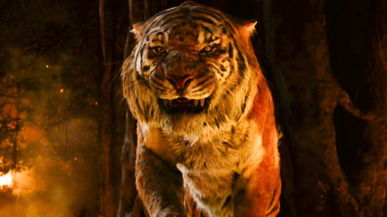 Download The Jungle Book (2016) - Mowgli vs. Shere Khan Final Fight Scene