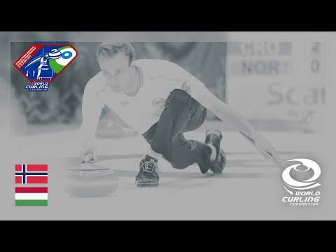 Norway v Hungary - Round-robin - World Mixed Doubles Curling Championship 2018