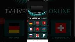 Fernsehen kostenlos live schauen - TV Streaming kostenlos ohne Anmeldung als App und Website