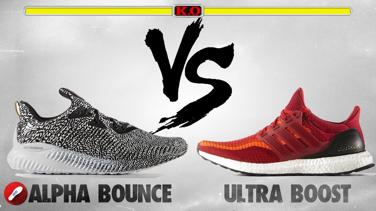 Adidas Alpha Bounce vs Adidas Ultra Boost! - YouTube d7f5bf3632
