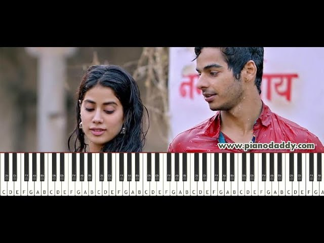 Pehli Baar (Dhadak) Piano Tutorial ~ Piano Daddy