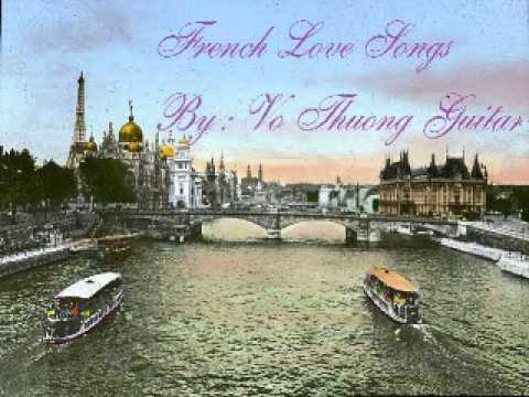 30 French Love Songs (Classic guitar) by Vo Thuong P.1