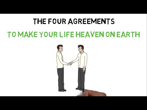 4 AGREEMENTS FOR HAVING A SUCCESSFUL AND HAPPY LIFE (HINDI) - THE FOUR AGREEMENTS BOOK SUMMARY
