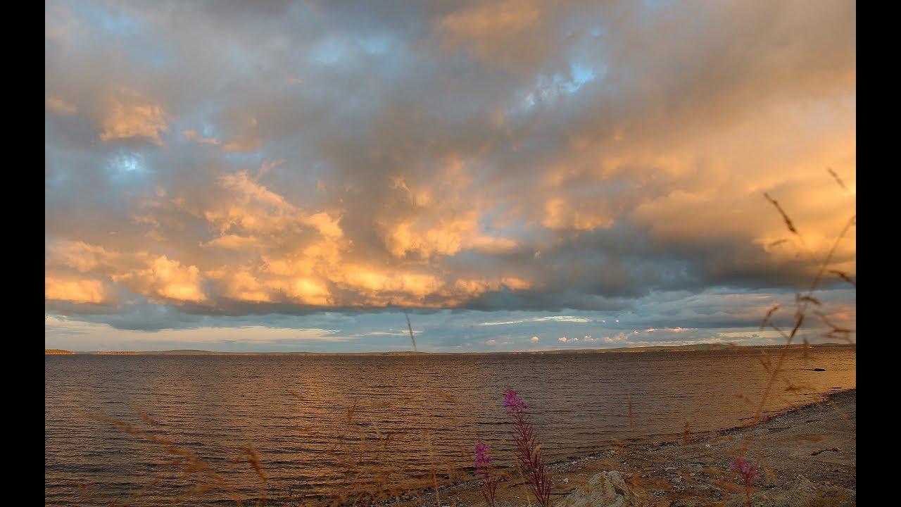 Карелия . Озеро Куйто. 1 часть