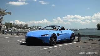 New 2021 Aston Martin Vantage Roadster Walk Around Youtube