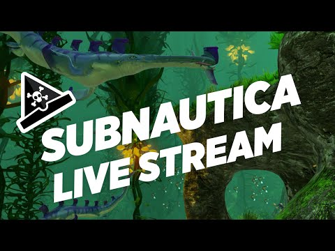 Subnautica Live Stream 01 - GOING DEEP - Let's Play Subnautica Gameplay