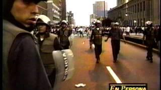 Tribunal Constitucional del Perú - Marcha de 1997 contra destitución de magistrados 2017 Video