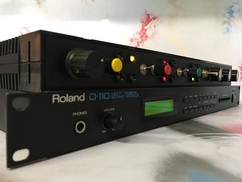 "CBMods Roland D-110 Multi-timbral Sound Module (19"" Rack)"