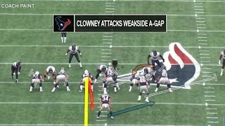 How Jadeveon Clowney fits in Seahawks' 4-3 Under Defense | Film Room