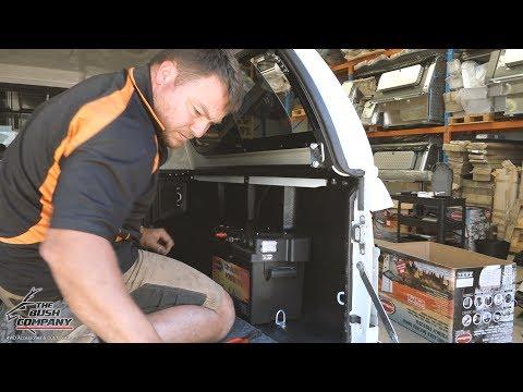 Dual Battery Install – Isuzu D-Max – The Bush Company