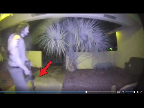 5 MYSTERIOUS Videos Caught On DOORBELL CAMERAS!