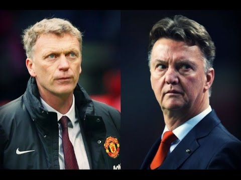 One year on Louis Van Gaal vs David Moyes. Part 1 Why Moyes Failed
