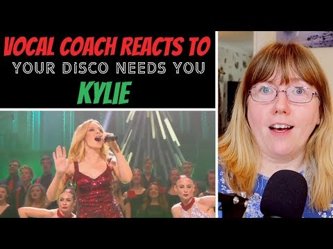 Vocal Coach Reacts To Kylie Minogue 'Your Disco Needs You' Royal Albert Hall