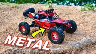 Metal 4X4 RC Truck Awesome - Virhuck High Speed Climbing - TheRcSaylors