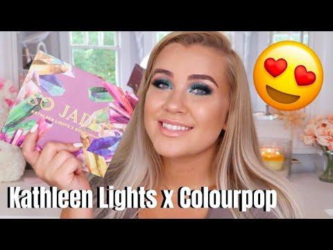 SO JADED - KATHLEEN LIGHTS X COLOURPOP REVIEW | Paige Koren