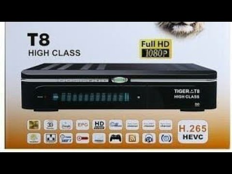 Tiger T8 High Class New Software 14 July Ten Sports working 100%