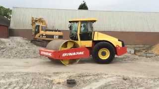 Video still for Dynapac CA302D roller at work