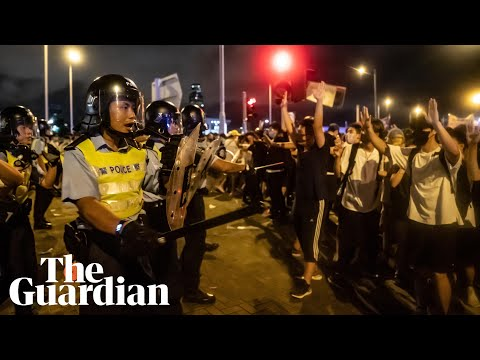 Monday briefing: Street fury in Hong Kong over extradition law