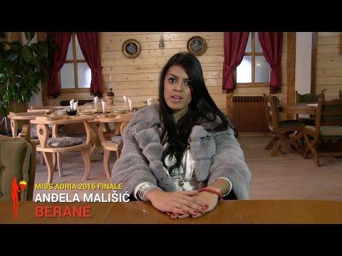 Anđela Mališić, Berane | Miss Adria 2016 FINALE