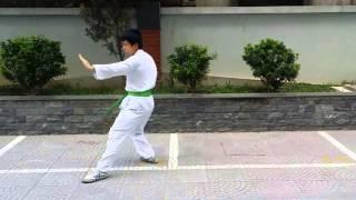 Speeddown Bài quyền bình an số 1 Karatedo - Presented by Vũ Văn Chung