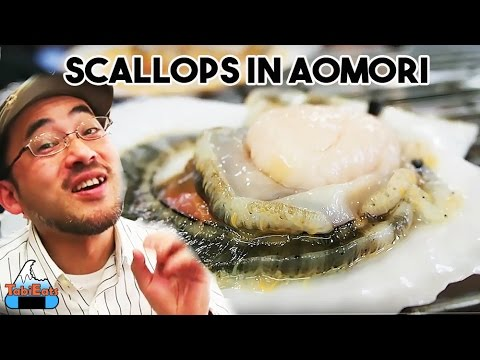 Fishing for Scallops in Aomori (JAPAN TRAVEL & FOOD)