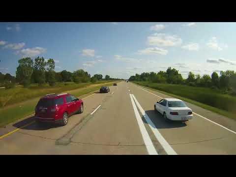 Driving through Lansing, Michigan