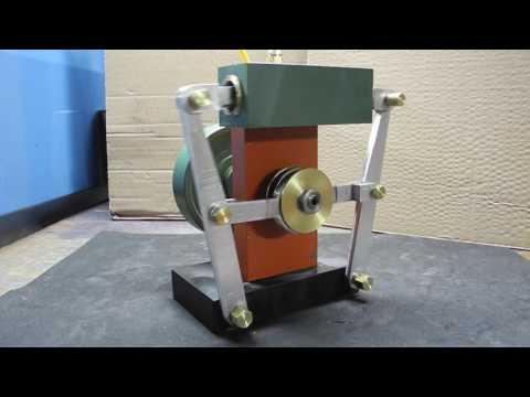 Opposed piston steam engine