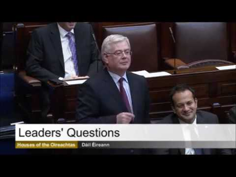Eamon Gilmore in 2013 predicts that Stephen Donnelly will join Fianna Fáil