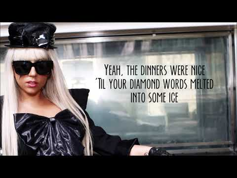 Lady Gaga - Paper Gangsta [Lyrics]