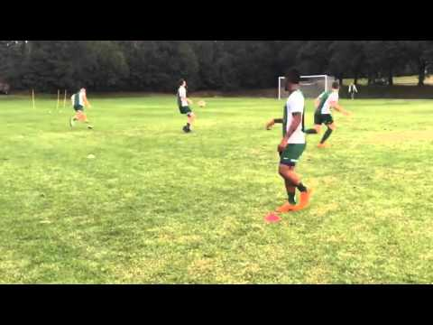 JU Men's Soccer / Training session Day 1