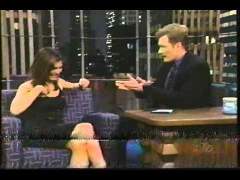 Conan O'Brien 'Paige Turco 42398