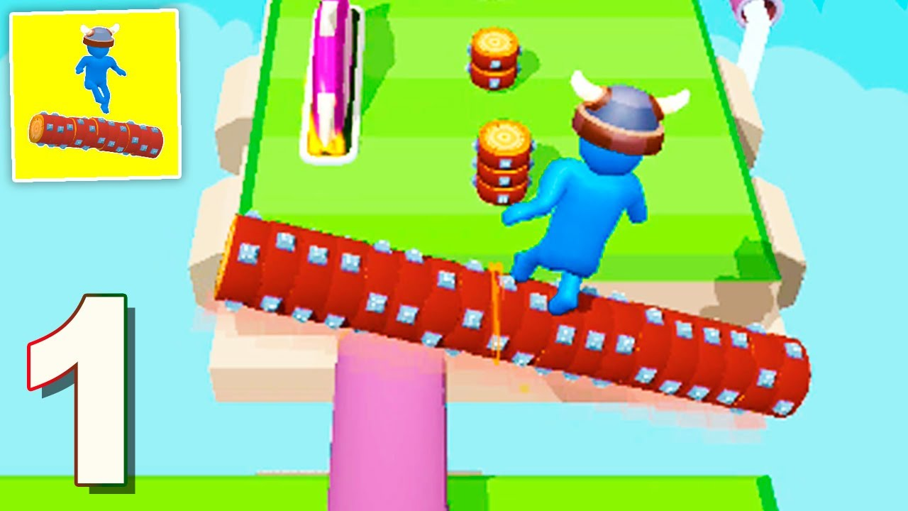 Download Robin Wood: Rolling Log - Gameplay Walkthrough 1-15 Levels (Android) Part 1